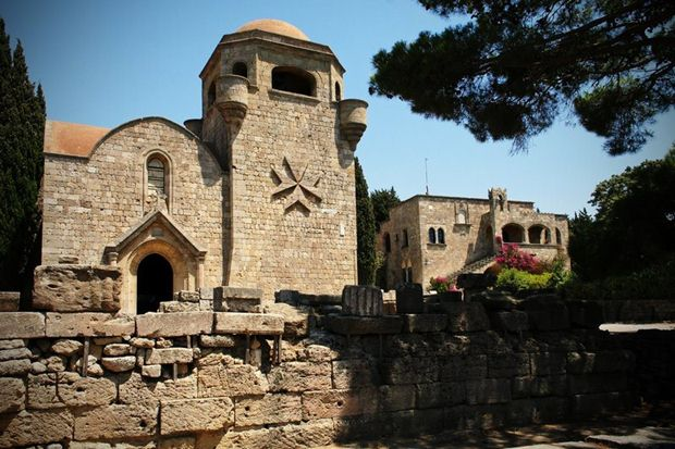 The Monastery of Filerimos