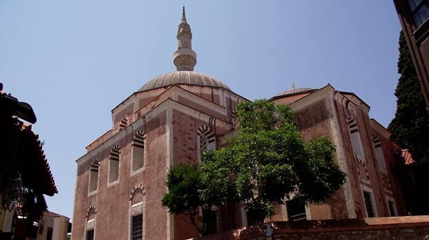 Camii'nin Pembe Duvarları ve Meşhur Minaresi