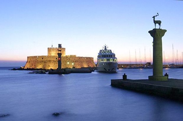 Mandraki Harbour Elefos Elafina