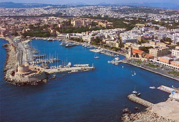 Mandraki Limani Genel Görünüm