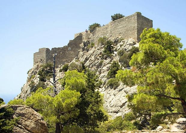 monolithos-kalesi