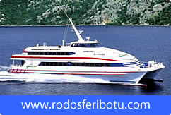 Marmaris-Rodos, Bodrum-Rodos Feribot Seferleri - RodosFeribotu.com