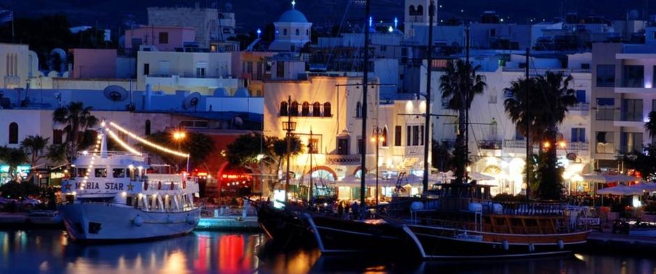 Rodos'ta Gece Hayatı